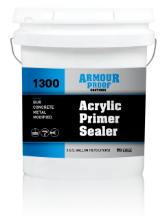 Image of United Asphalt's Armour Proof AP-1300 - Acrylic Primer Sealer - 5 Gallon Bucket