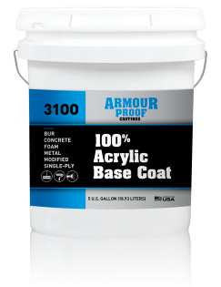 Image of United Asphalt's Armour Proof AP-3100 Acrylic Base Coating in 5 Gallon Bucket