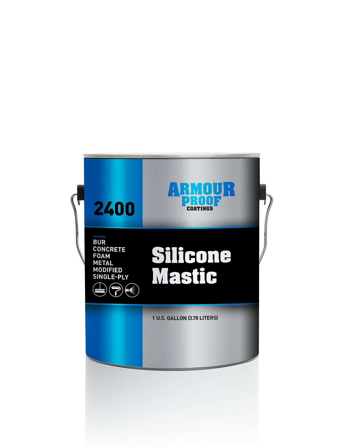 Ap 2400 Silicone Mastic Armour Proof Coatings