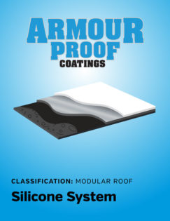 United Asphalt's Armour Proof Silicon Modular Coating System