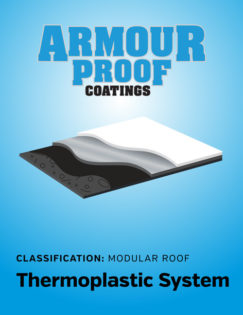 United Asphalt's Armour Proof Thermoplastic Modular Coating System