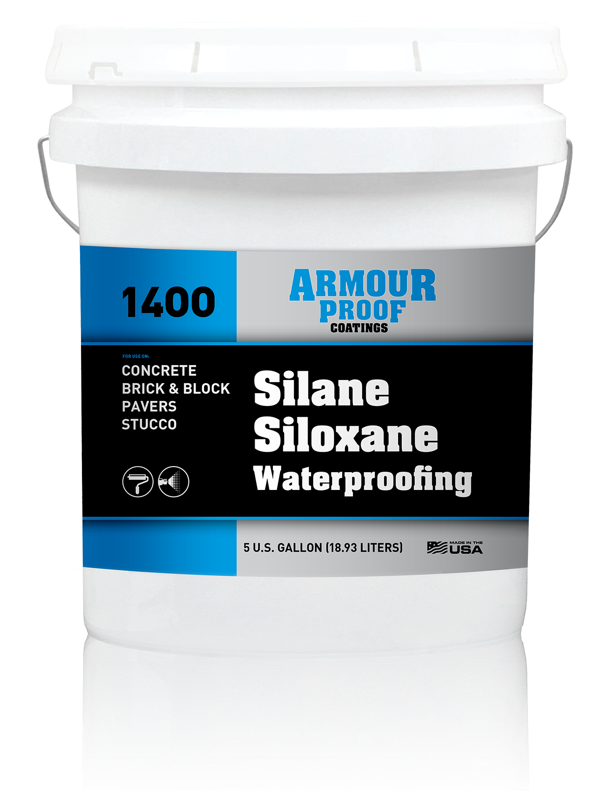 Ap 1400 Silane Siloxane Waterproofing Armour Proof Coatings