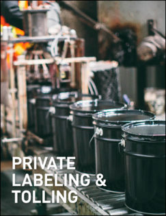 Image of United Asphalt's Private Labeling & Tolling Services