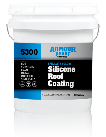Ap 5300 Silicone Roof Coating In Specialty Colors Armour